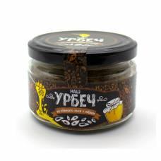 Урбеч из льна темного с мёдом НашУрбеч, 200 гр