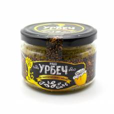 Урбеч из льна золотистого с мёдом НашУрбеч, 200 гр