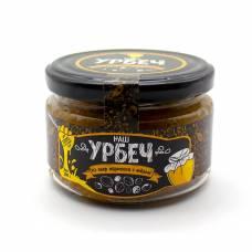 Урбеч из косточки абрикоса с мёдом НашУрбеч, 200 гр