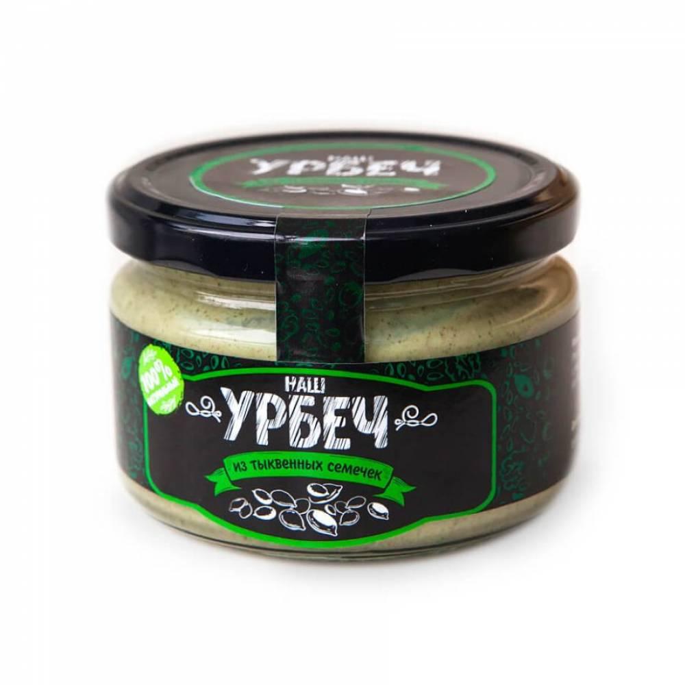 Урбеч из тыквенных семечек НашУрбеч, 200 гр