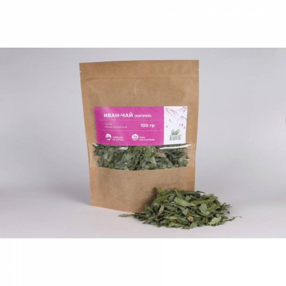 Иван-чай, кипрей Altaivita, неферментированный, 100 гр