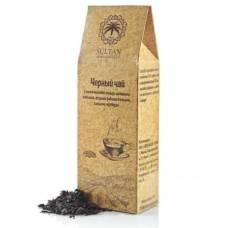 Черный чай Ассам с можжевеловой ягодой Султан, 100 гр