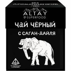 Чай чёрный в пирамидках с саган-дайля, Алтайвита, 30 гр