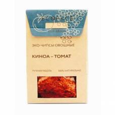 Овощные чипсы с киноа и томатом EcoSpace, 100% ручная работа, 40 гр