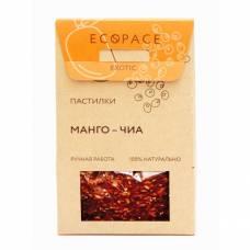 Фруктовая пастила с манго и семенами чиа EcoSpace, 100% ручная работа, 40 гр