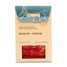 Фруктовая пастила на гречишном чае с вишней и кэробом EcoSpace, 100% ручная работа, 40 гр