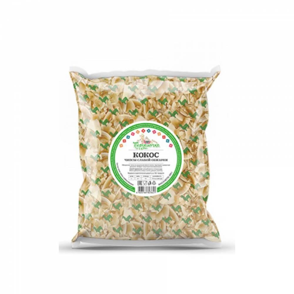 Кокосовые чипсы слабой обжарки Перуаночка, 400 гр