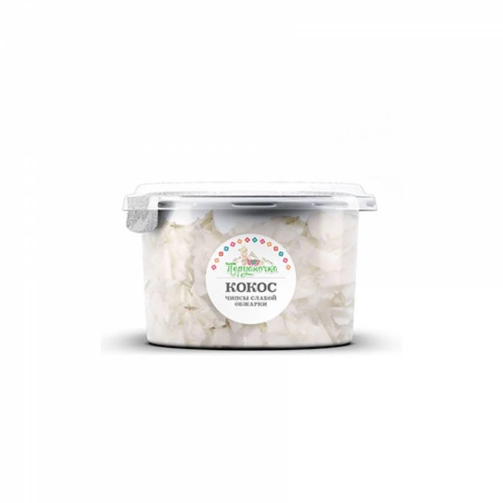 Кокосовые чипсы слабой обжарки Перуаночка, 120 гр