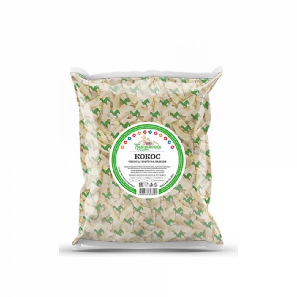 Кокосовые чипсы натуральные Перуаночка, 100 гр