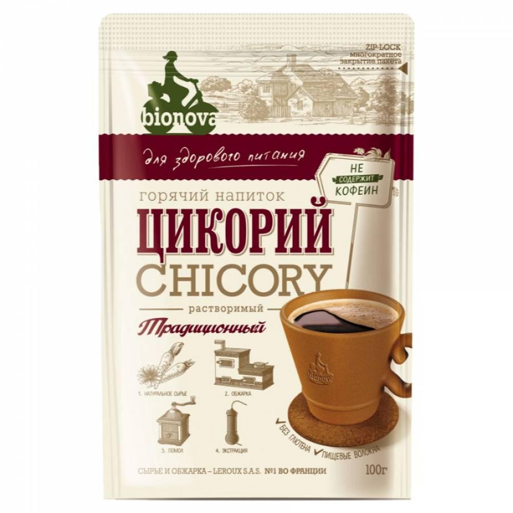 Цикорий растворимый традиционный Бионова, 100 гр