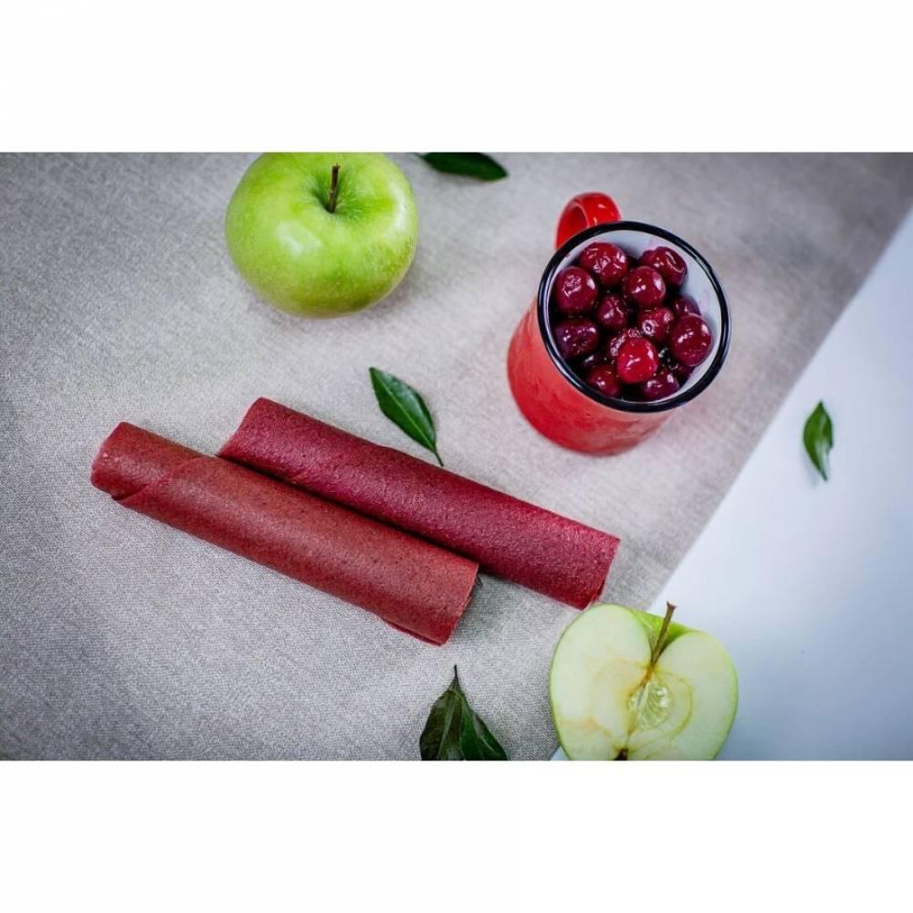Фруктовая пастила вишневая домашняя, 30 гр