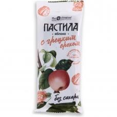 Фруктовая пастила из яблока с грецким орехом без сахара, ГОСТ, Нат Виноград, 50 гр