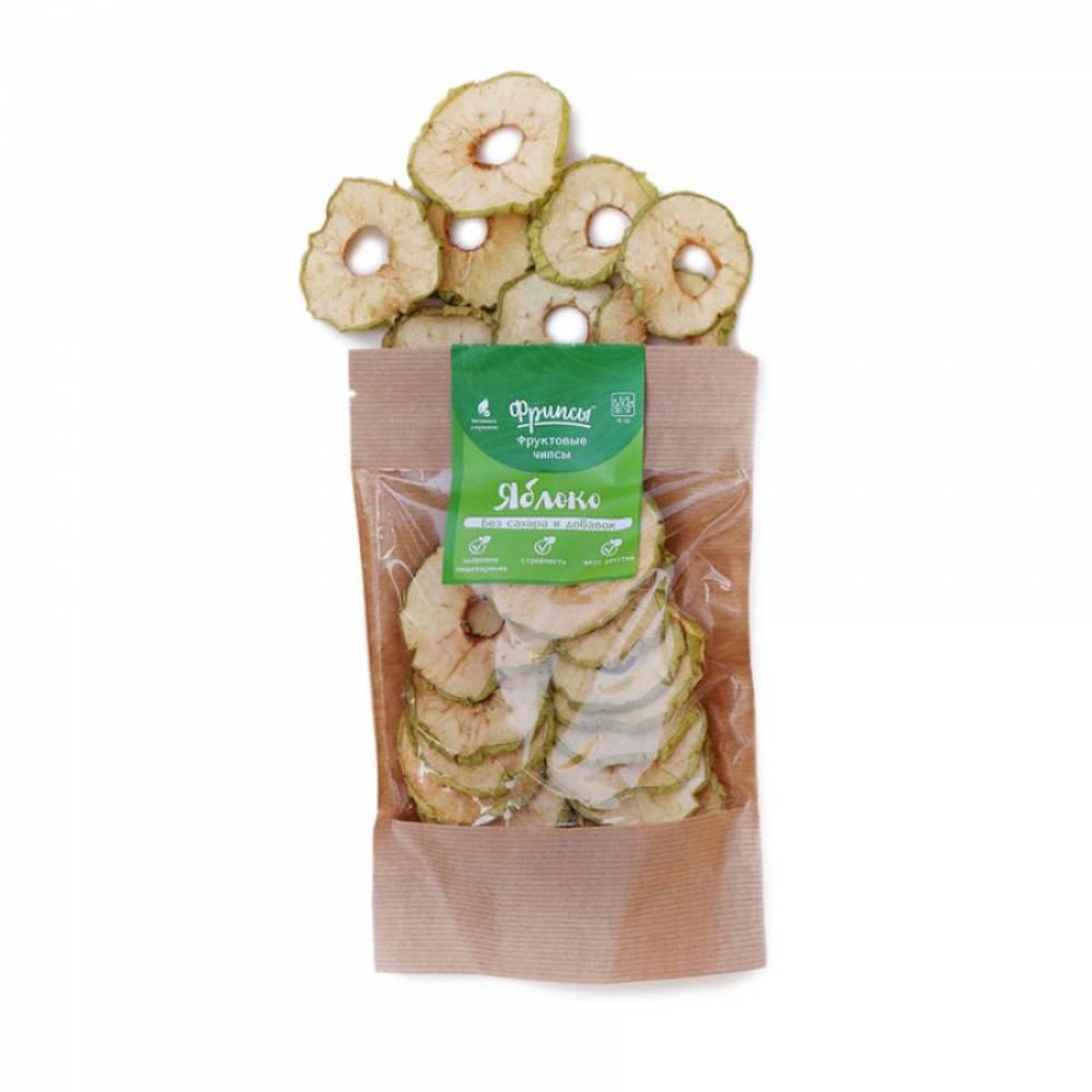 Сушеные яблоки натуральные, 30 гр