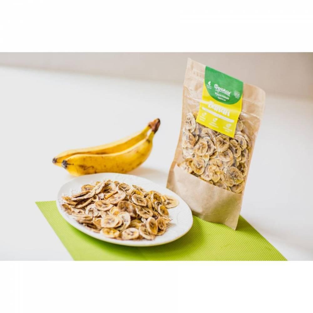 Сушеные бананы натуральные, 50 гр