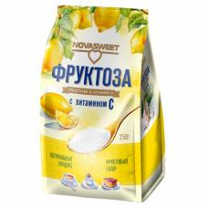 Фруктоза НОВАСВИТ с витамином С, 250 гр