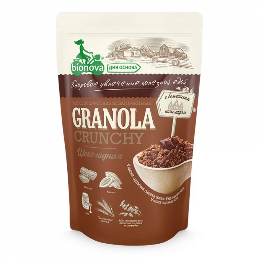 Гранола шоколадная Бианова, 400 гр