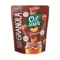 Гранола ОлЛайт шоколадная с орехами, 280 гр