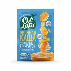 Овсяная каша молочная быстрого приготовления ОлЛайт с курагой, 40 гр