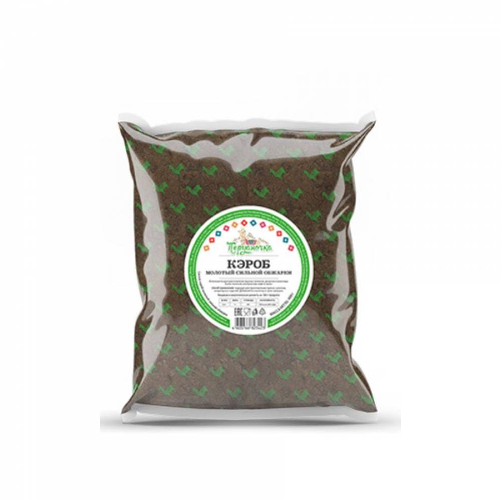 Кэроб Перуаночка, молотый сильной обжарки, 100 гр