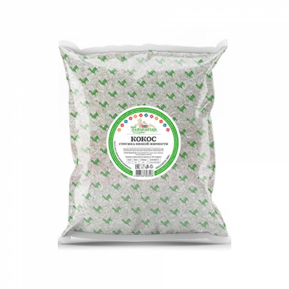 Кокосовая стружка Перуаночка низкой жирности, 100 гр