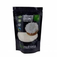 Кокосовая стружка Econutrena United Spices 100% органика, высокой жирности 65%, 150 гр