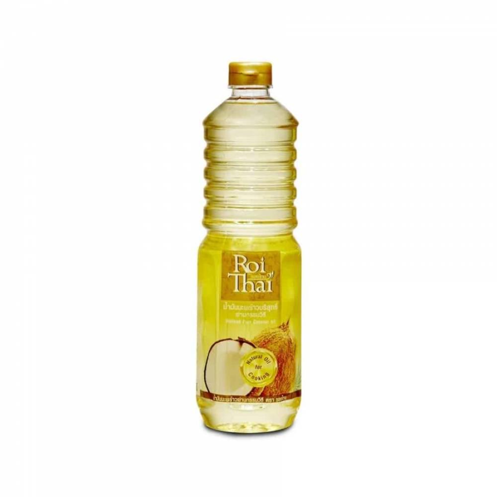 Кокосовое масло ROI THAI, рафинированное, 1000 мл