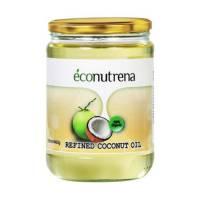 Кокосовое масло рафинированное Econutrena для жарки United Spices 100% органика, 500 мл