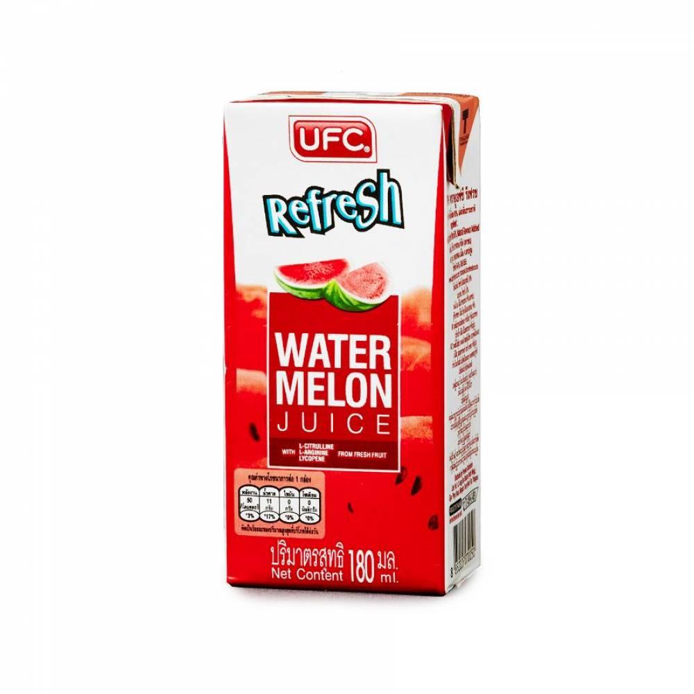 Арбузная вода Refresh 60% , UFC, 180 мл