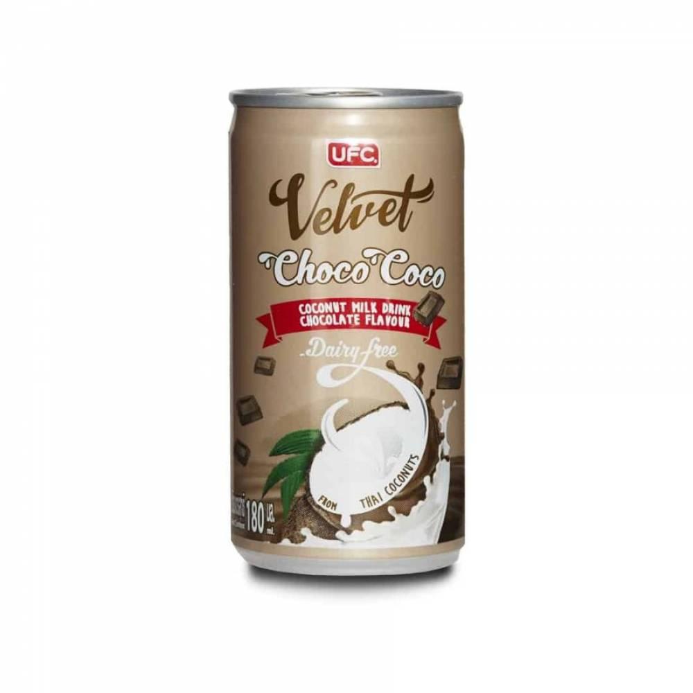 Кокосовый напиток со вкусом шоколада UFC Velvet, 180 мл