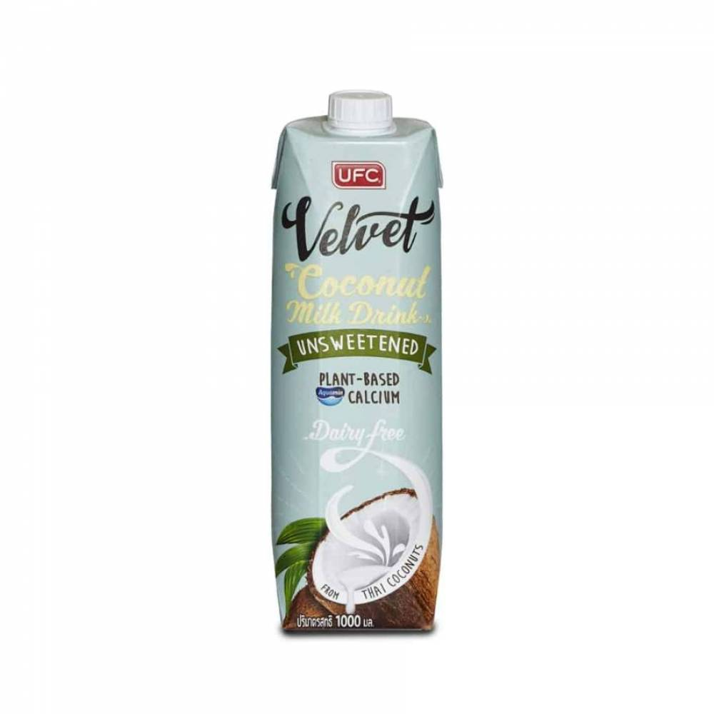 Кокосовый напиток UFC Velvet Unsweetened без сахара, 1000 мл
