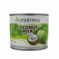 Кокосовое молоко Econutrena жирность 17% United Spices 100% органика, 200 мл