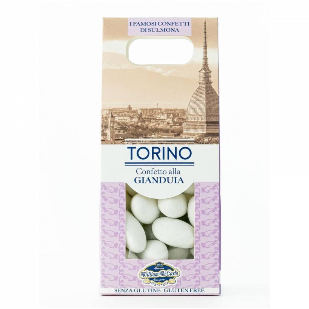 Конфеты без глютена Драже вкус Джандуя Турин, William di Carlo, 100 гр