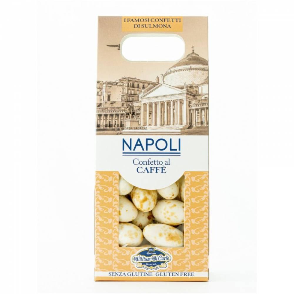 Конфеты без глютена Драже вкус кофе Неаполь, William di Carlo, 100 гр