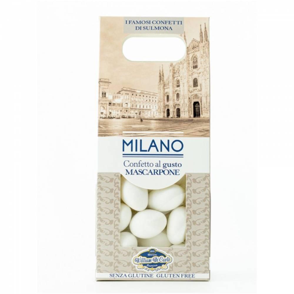Конфеты без глютена Драже вкус маскарпоне Милан, William di Carlo, 100 гр