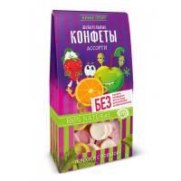 Жевательные конфеты ассорти Живые снеки, 35 гр