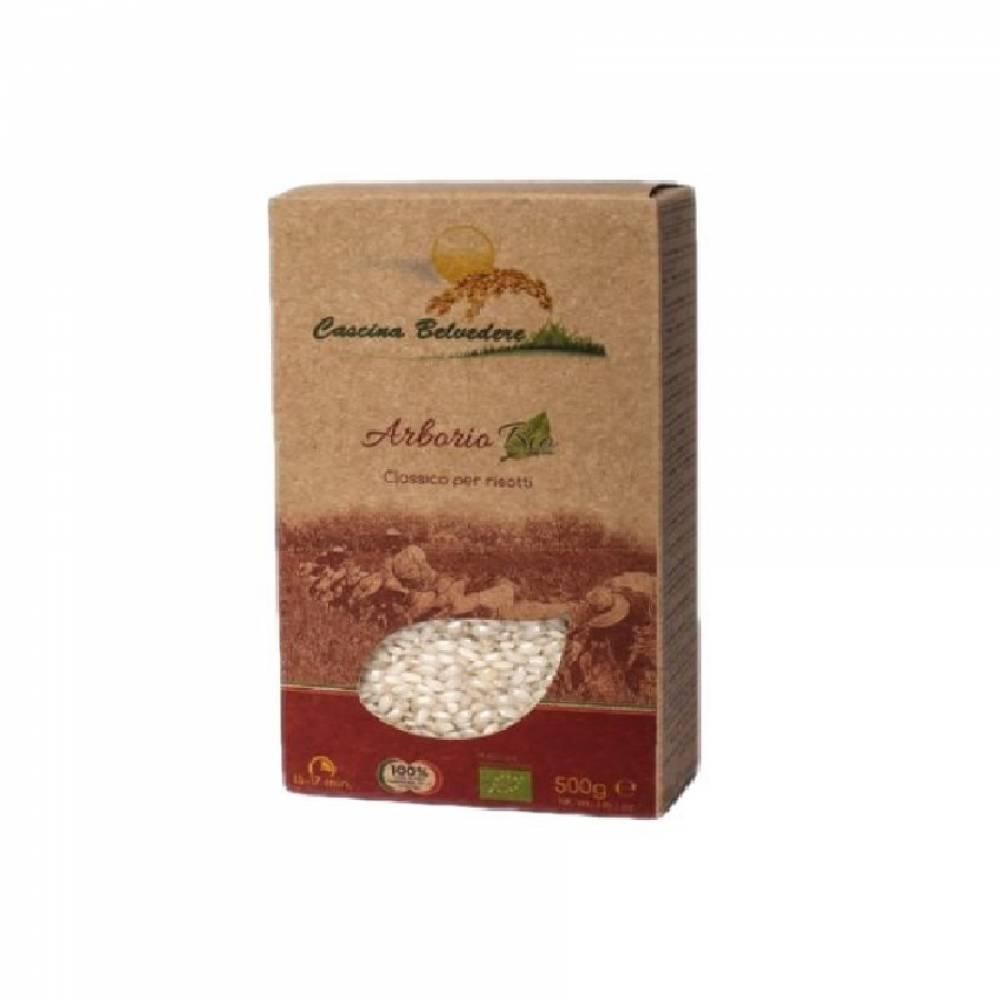 Рис органик без глютена Арборио, Cascina Belvedere, 500 гр