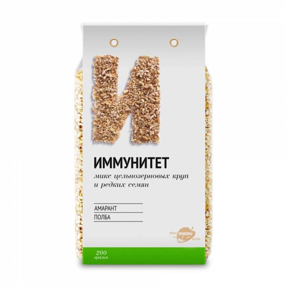 Смесь круп иммунитет (полба, амарант) Образ жизни, 200 гр