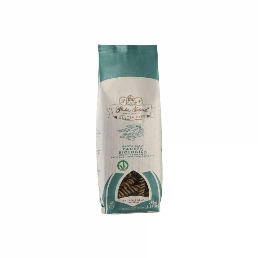 Макароны без глютена из кукурузы и риса с коноплей Казареччиа Pasta Natura, 250 гр