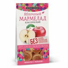 Яблочный мармелад классический Живые снеки, 90 гр