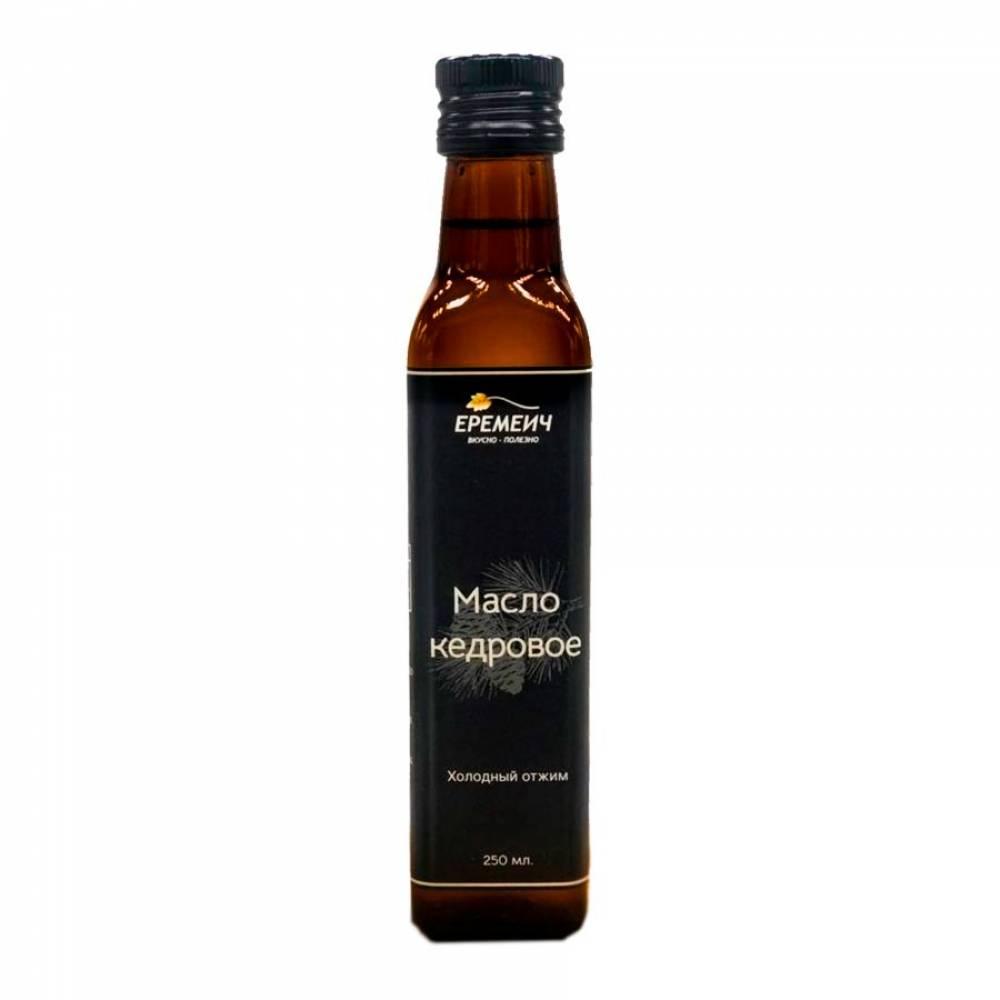 Кедровое масло холодного отжима ЕРЕМИЧ, 250 мл