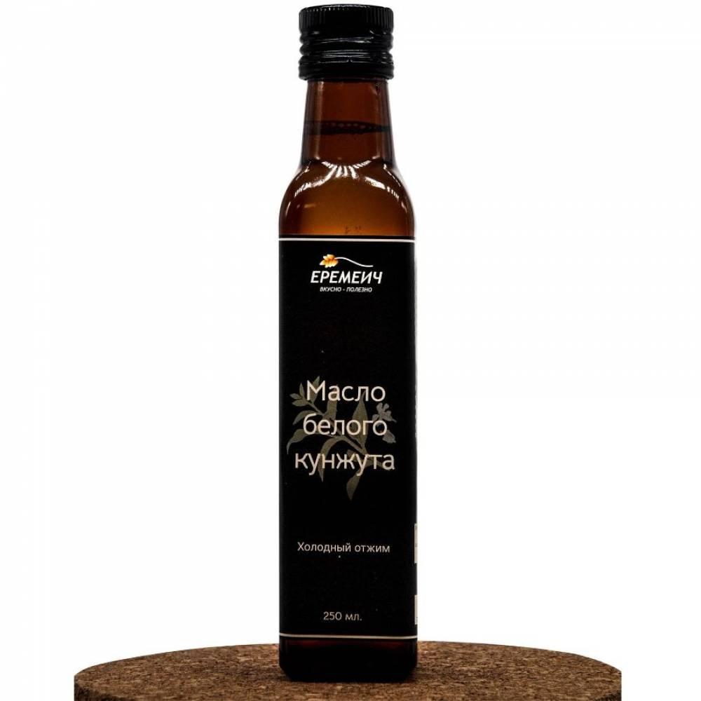 Кунжутное масло холодного отжима из семян белого кунжута ЕРЕМИЧ, 250 мл