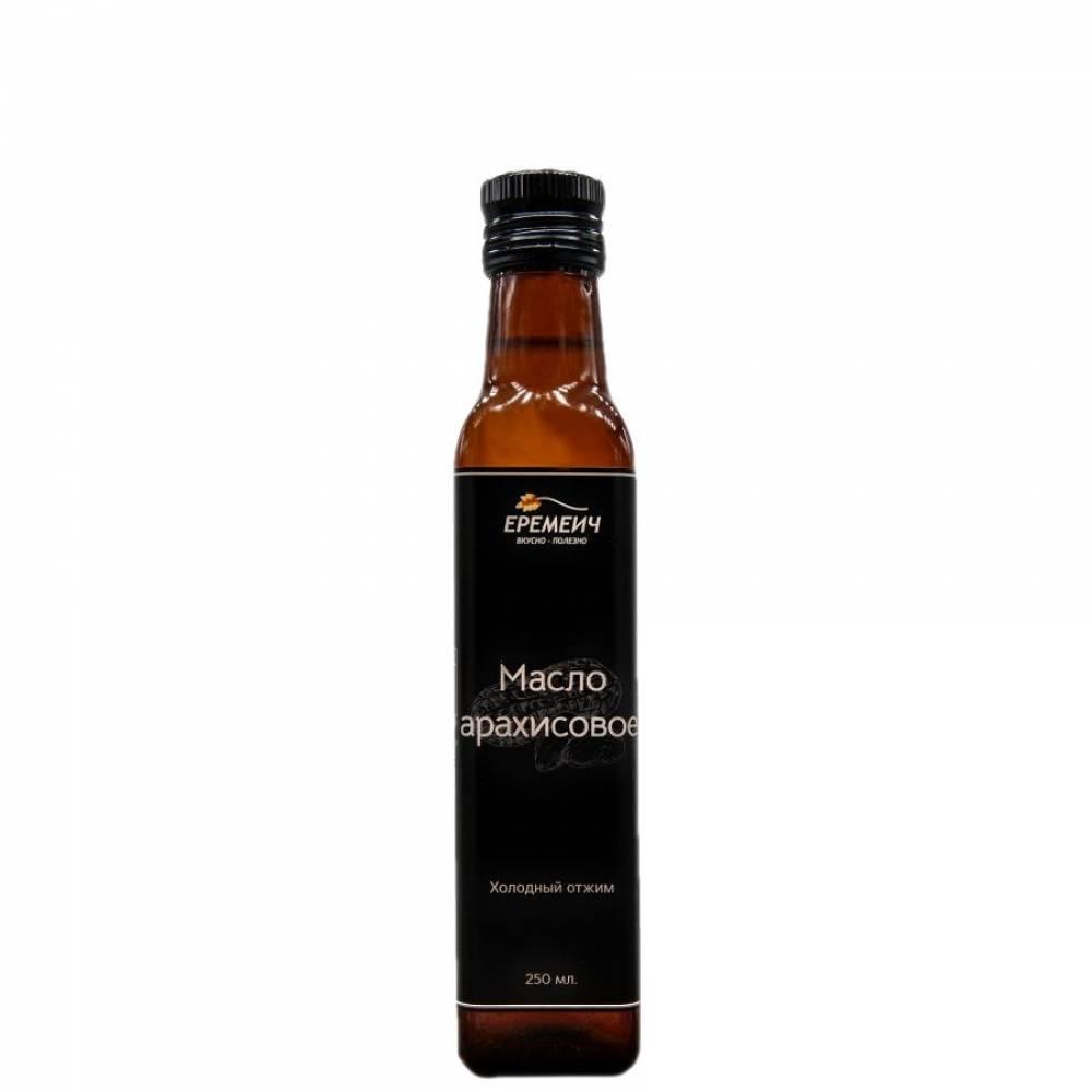 Арахисовое масло холодного отжима ЕРЕМИЧ, 250 мл