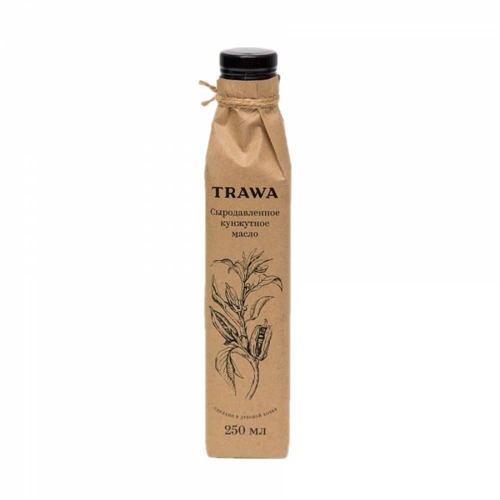 Масло кунжутное сыродавленное TRAWA, 250 мл
