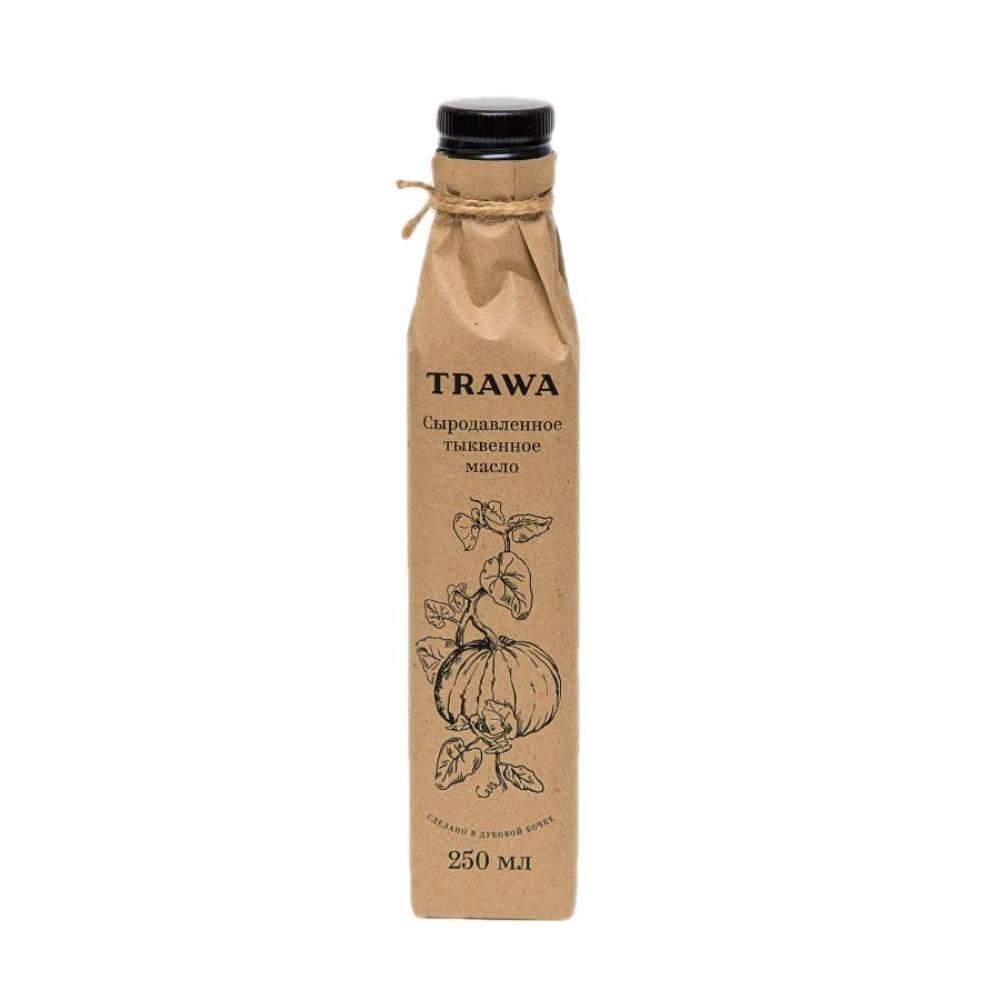 Масло тыквенное сыродавленное TRAWA, 250 мл