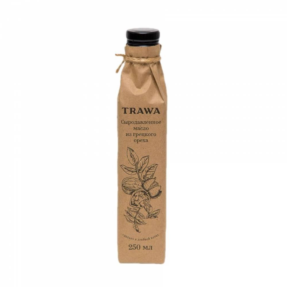 Масло грецкого ореха сыродавленное TRAWA, 250 мл
