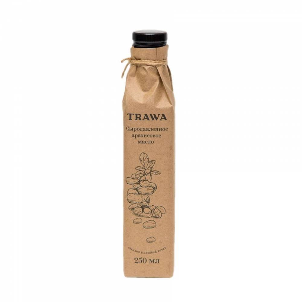 Масло арахисовое сыродавленное TRAWA, 250 мл