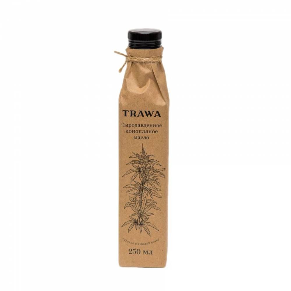 Масло конопляное сыродавленное TRAWA, 250 мл