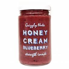 Натуральный крем-мёд с черникой Grizzly Nuts, 470 гр