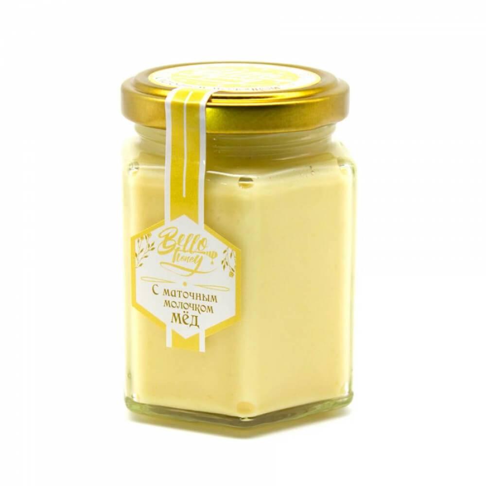 Крем-мёд с маточным молочком BelloHoney, 200 мл