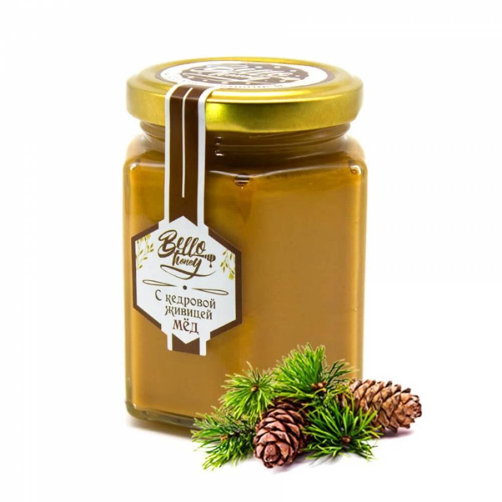 Крем-мёд с кедровой живицей BelloHoney, 200 мл